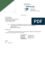 DTE Report on MPSC Investigation