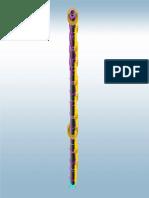 Chamine Metalica - Altura =60m