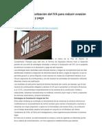 SII Refuerza Fiscalización Del IVA Para Reducir Evasión en Declaración y Pago