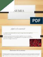 Analisis Deteccion de Anemia