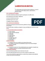 Reglamentos de Moto1