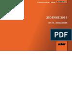 Katalog Engine KTM Duke 250