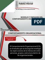 MODELOS Y ENFOQUES DEL COMPORTAMIENTO ORGANIZACIONAL