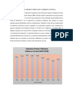 Evolucion Presion Tributaria Gobierno Central