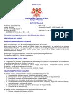 Syllabus Andrea Moreira