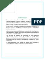 Analisis Dimensional y Semejanza Hidraul