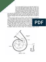 Pump Volute Design