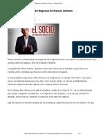 El Socio – 14 Consejos de Negocios de Marcus Lemonis - EmprenDinero