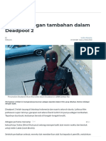 Apa Arti Adegan Tambahan Dalam Deadpool 2