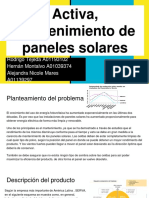 Activa, Mantenimiento de Paneles Solares