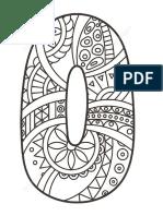 Zentagle - Numeros Mandala Para Atención y Concentración