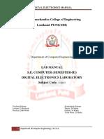 Digital Electronics Laboratory