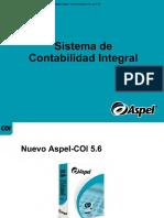"""05) ASPEL. (2004). """"Sistema de Contabilidad Integral"""" en Presentación COI , Pp 1-70"""