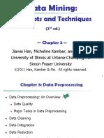 Pre Processing Data