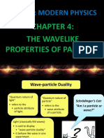 Chapter 4 - The Wave-like Properties of Particles