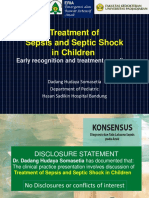 Treatment of Sepsis and Septic Shock in Children Early Recognition and Treatment Save Lives