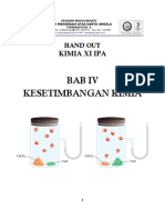 Bab IV Kesetimbangan Kimia
