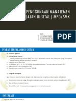 Panduan Singkat MPD SMK