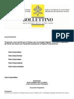 Sínodo PanAmazonía Documento de Trabajo