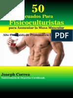 50 Licuados Para Fisicoculturistas Para Aumentar La Masa Muscular 85