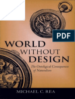 World Without Design the Ontological Consequences