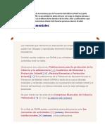 FAMPI PUBLICACIONES FUENTES DOCUMENTALES+++