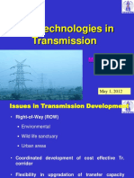 New Technologies in Transmission
