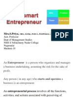 Be a Smart Entrepreneur