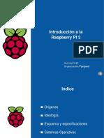 Introducción a la Raspberry Pi 3