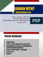 ROADMAP STR RE REGISTRASI 31 MEI 2016.pptx