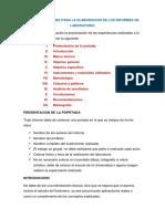 Presentacion de Informe Laboratorio