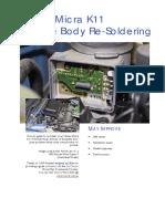 Cg13de Throttle Body Resoldering Guide