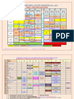 Extracted Pages From Aut Time Table 18 19