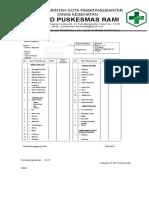 8.1.6.2 Dan 8.1.6.3 Form Laporan Pemeriksaan Lab Memuat Rentang Nilai Normal