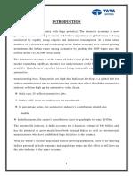 Internship Report on TATA MOTORS