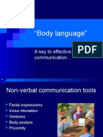Copy of Body Language 1