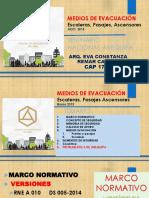 Seminario Nacional Medios de Evacuacion AREQUIPA JULIO 2015 Exp Arq Remar REV 1