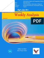 Weekly Analysis 6th Edition
