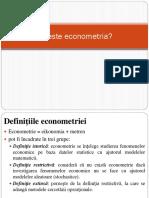 C1.Ce Este Econometria