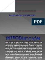 Metodo-sublevel Stoping Ppt
