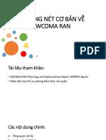 Những Nét Cơ Bản Về WCDMA RAN