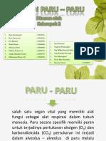 Biofarmasi - Paru-Paru