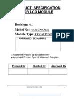 LCD SPEC