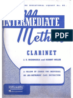 Clarinet (Rubank Intermediate Method)