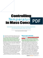 Mass Concrete