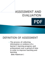 assessmentvsevaluation-110131230124-phpapp02
