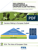 Challenges & Opportunities in European Club Football - Marc Schmidgall