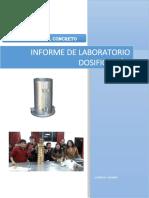 Informe de Dosficación