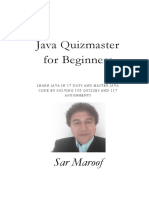 Java Quizmaster for Beginners