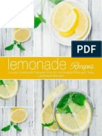 Lemonade Recipes a Juice Cookbook Focused Only on Lemonade Filled With Easy Lemonade Recipes